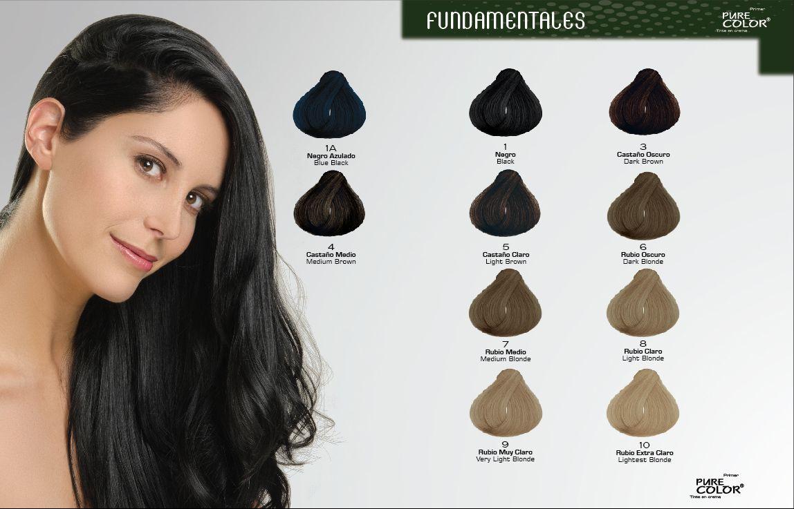 Ver colores de tintes para cabello