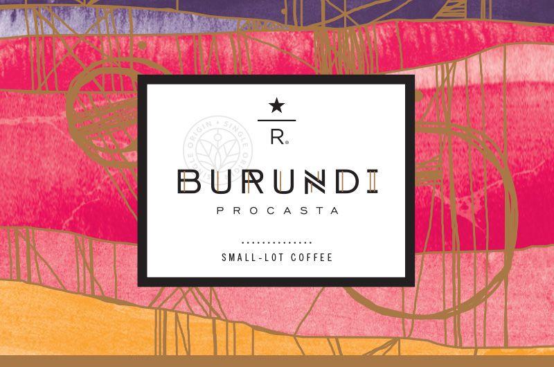 Starbucks reserve burundi procasta features floral black