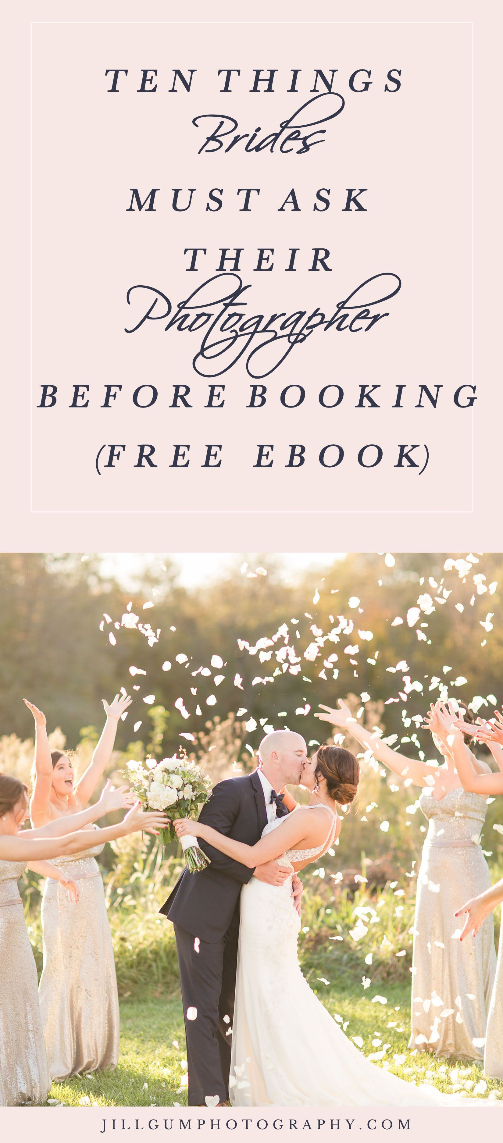 10 Questions To Ask Your Photographer How Do I Find A Wedding What Before Booking Vendor