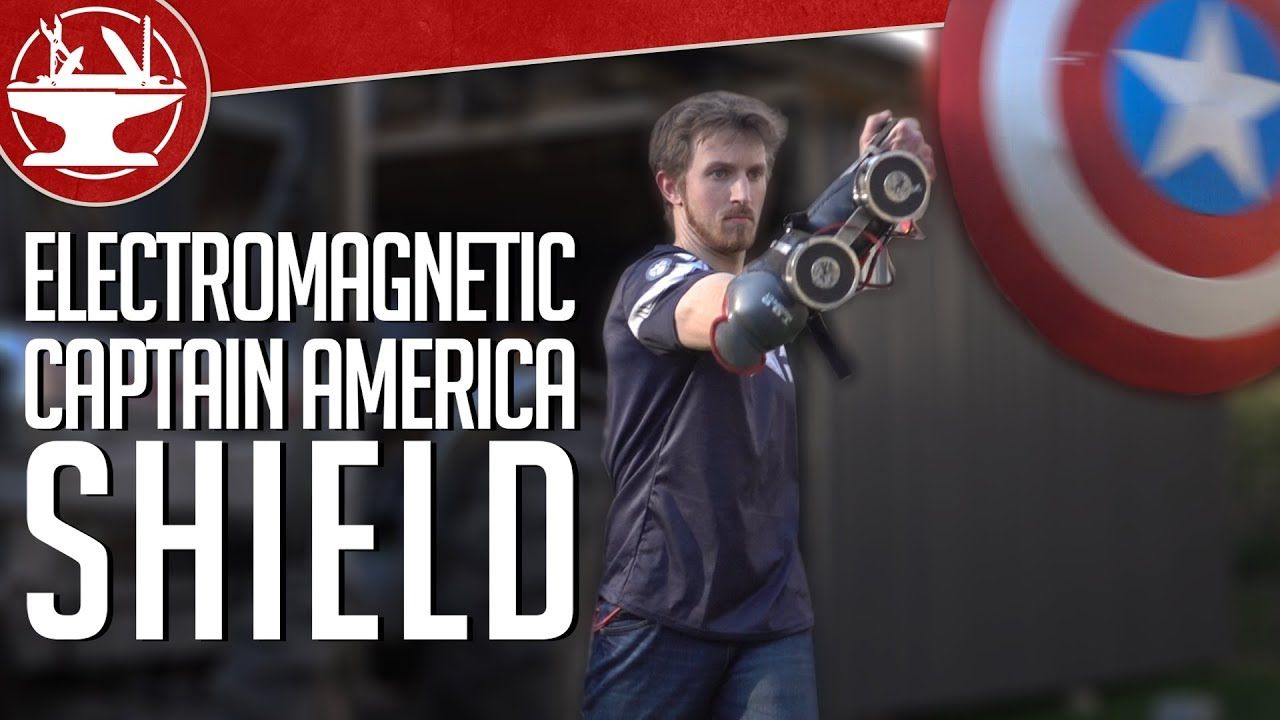 Does Captain America S Electromagnet Shield Work Captain America Captain America Shield Captain