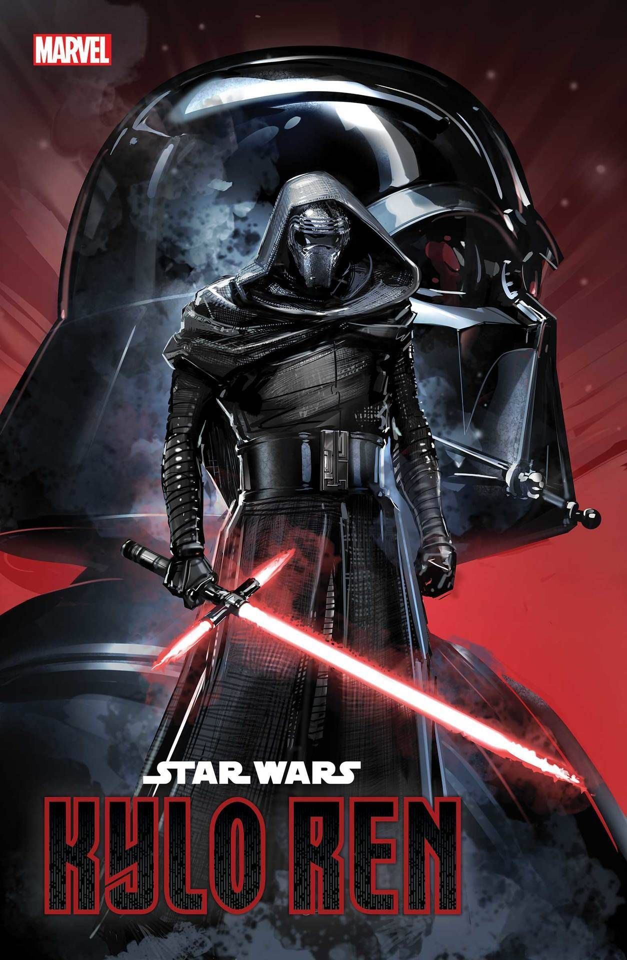 Star Wars The Rise Of Kylo Ren 1 Of 4 Charles Soule W Will Sliney A Cover By Clayton Crain With Ben Star Wars Comics Star Wars Art Star Wars Books