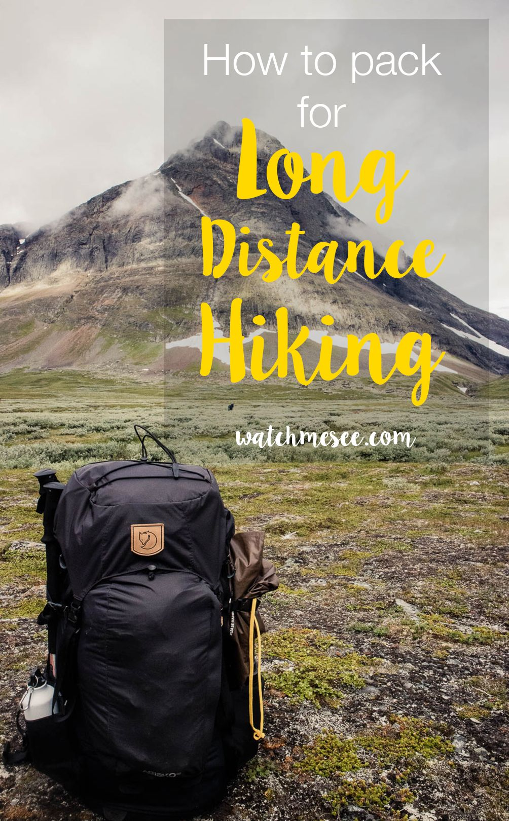 Photo of How and what to Pack for Long-Distance Hiking and Trekking – Watch Me See