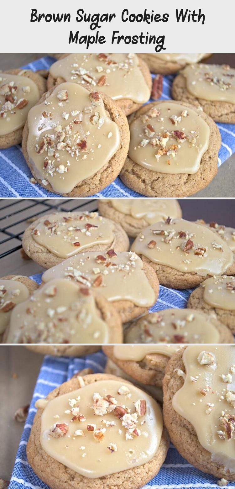 These soft brown sugar cookies are PERFECTLY paired with