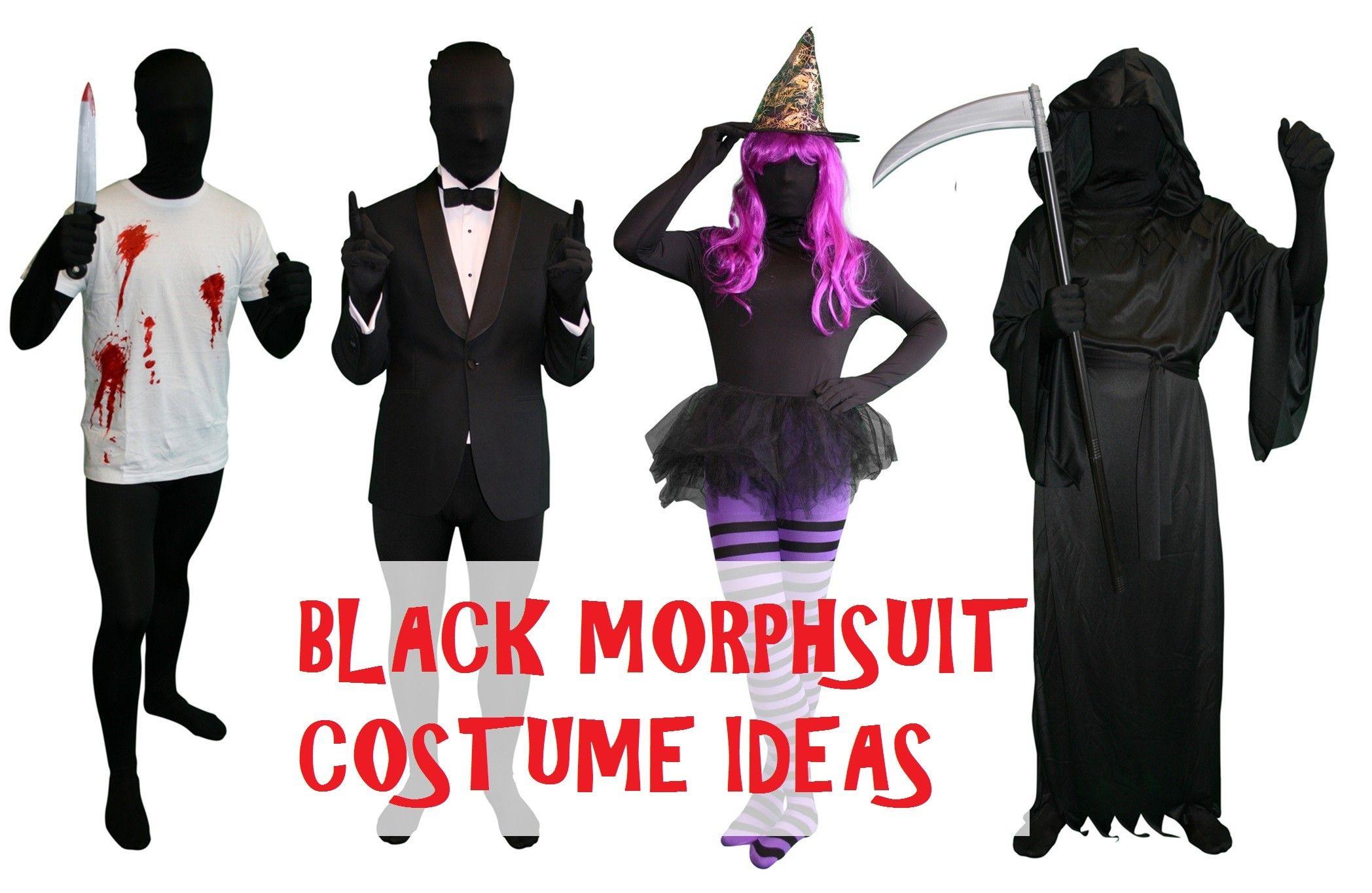 black morphsuit costume ideas for halloween - Morphsuits Halloween Costumes