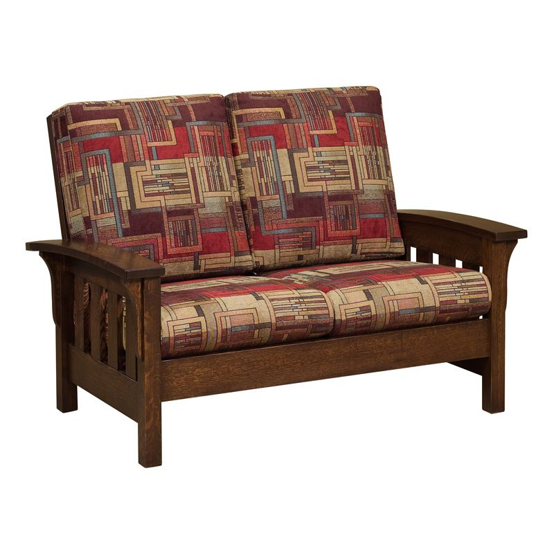 Bow Arm Loveseat | Amish Sofas U0026 Loveseats, Amish Furniture | Shipshewana  Furniture Co.