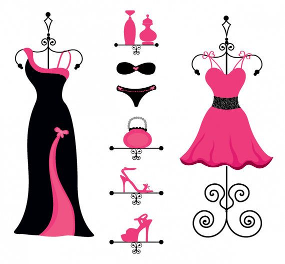 Night Out Clip Art Border