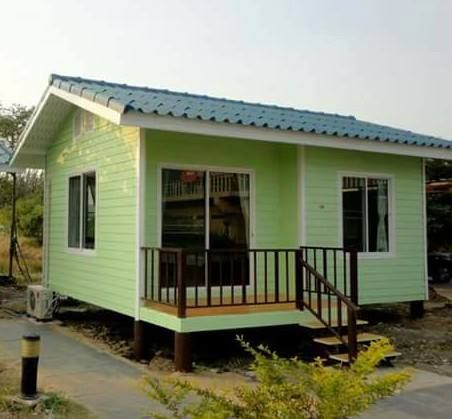 Simple Green Tiny House Plans In 2019 Small House Design