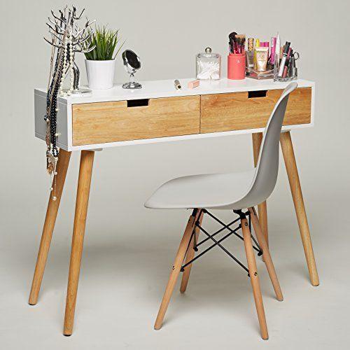 Holz Le Design konsolentisch holz weiß 100 x 30 x 80 cm konsole beistell https