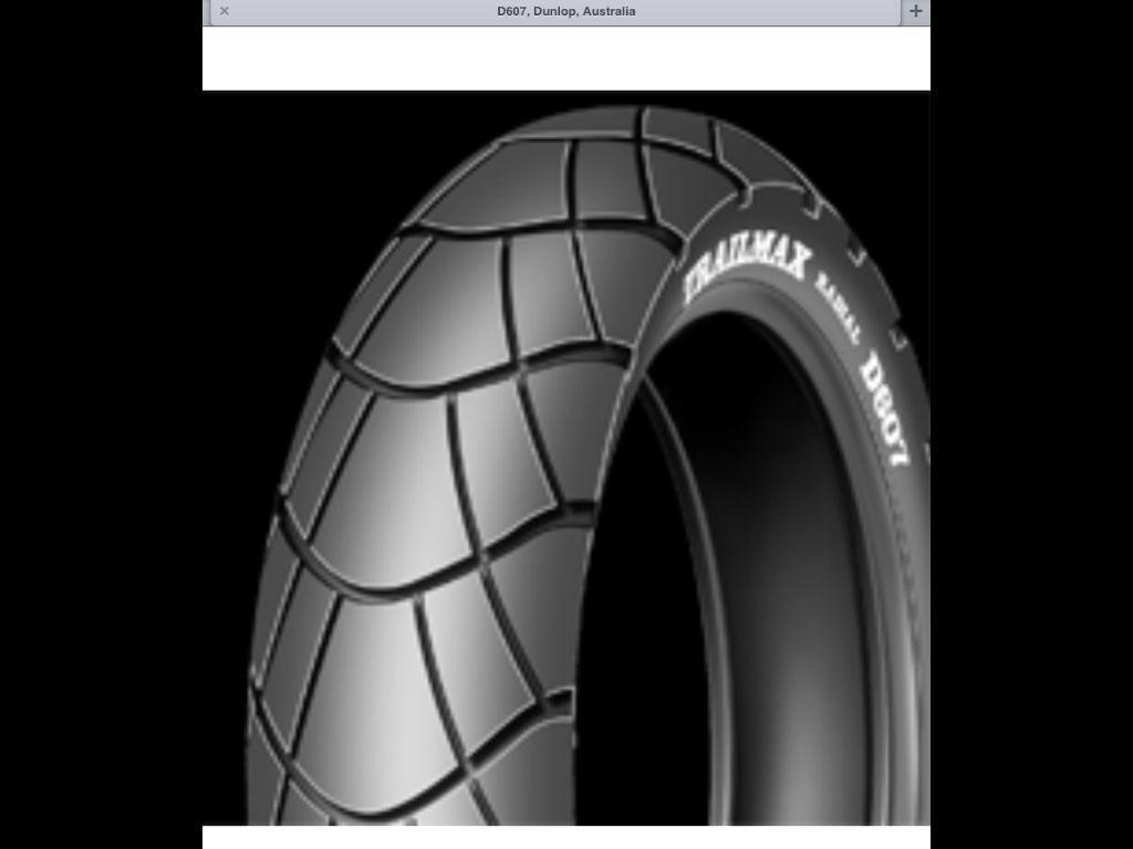 Dunlop D607 Dual sports motorcycle tyres  | Enduro dual sport