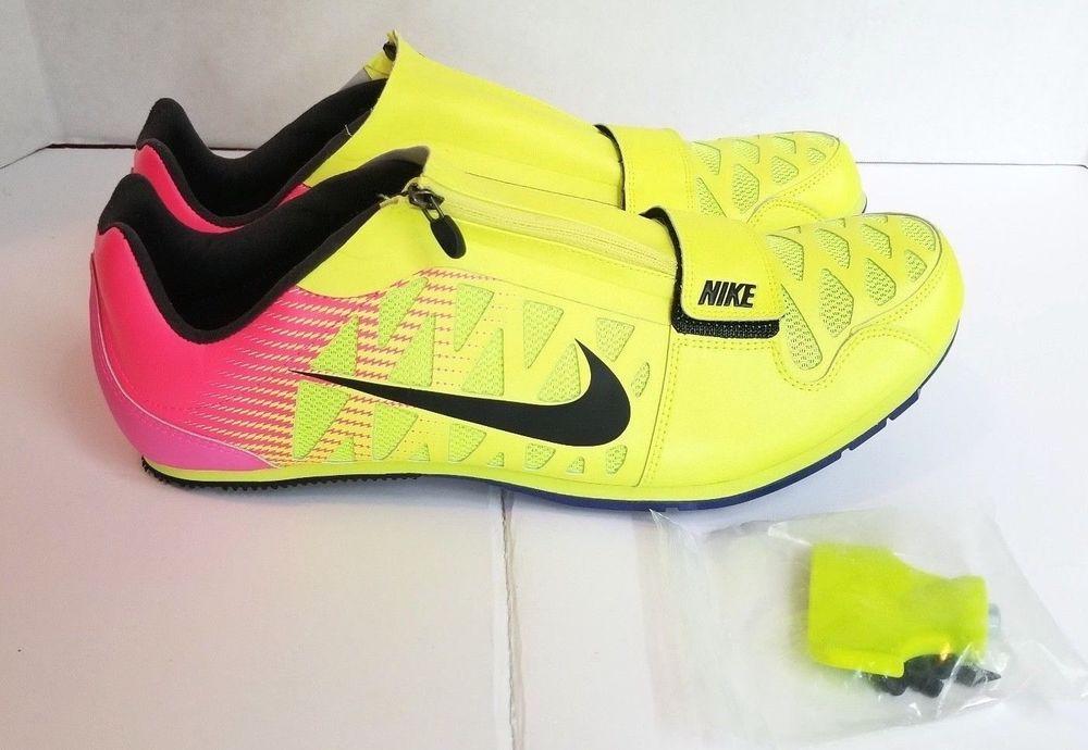 455b1e81d95 Nike Zoom LJ 4 Long Jump Pole Vault Spike RIO 882016-999 MEN SZ 14 W Spikes  Tool