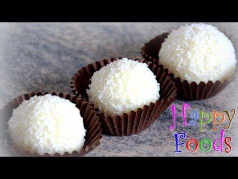 How To Make Homemade Coconut Raffaello S Happyfoods Tube Coconut Balls Happy Foods Easy To Make Desserts
