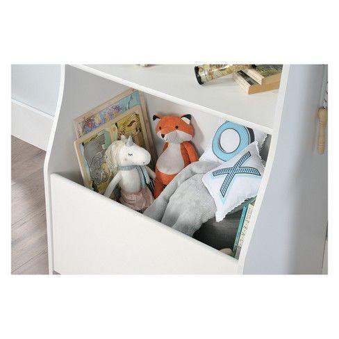 Best Pinwheel Bin Bookcase Soft White Sauder *D*Lt Unisex 640 x 480