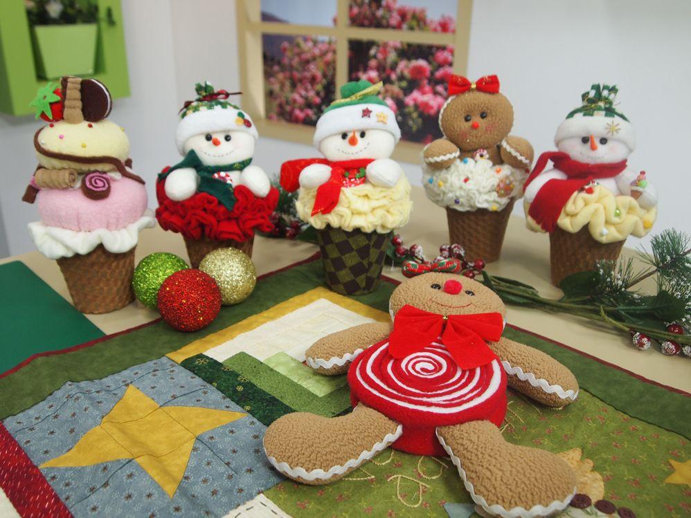 manualidades navideñas muñeca gengibre Pinterest Manualidades - cosas de navidad