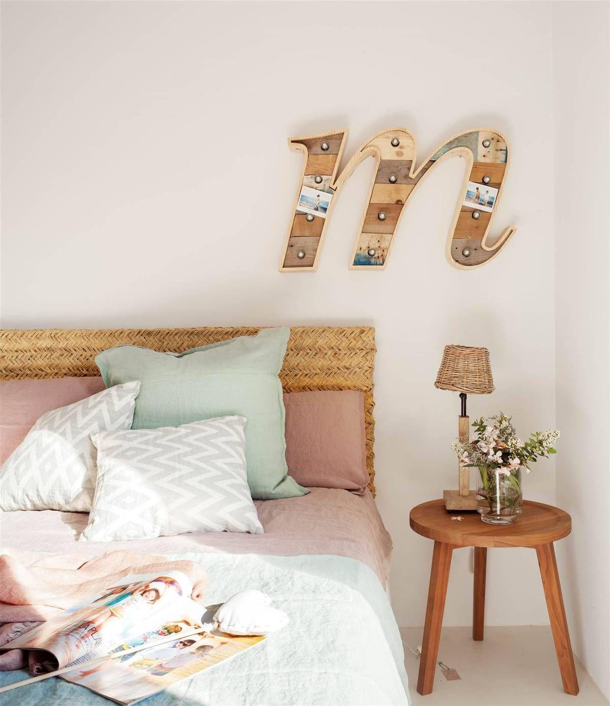 Cabeceros de esparto: puro frescor en 2020 | Dormitorios