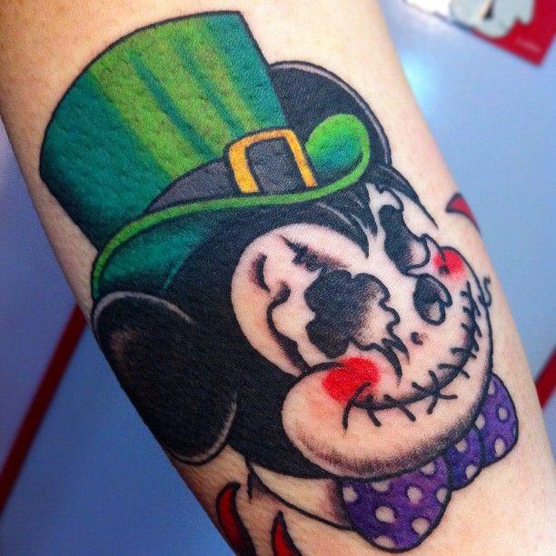 #skull #mickeymouse #tattoo #reikotattoo