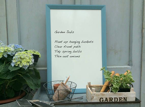 Sale Framed Notice Board Housewarming Gift Framed Whiteboard