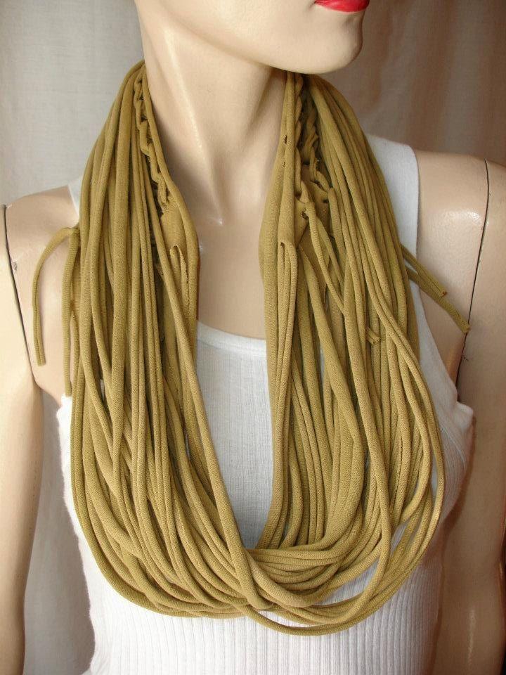 t-shirt scarf   diy scarves   Pinterest   Shirt scarves ...