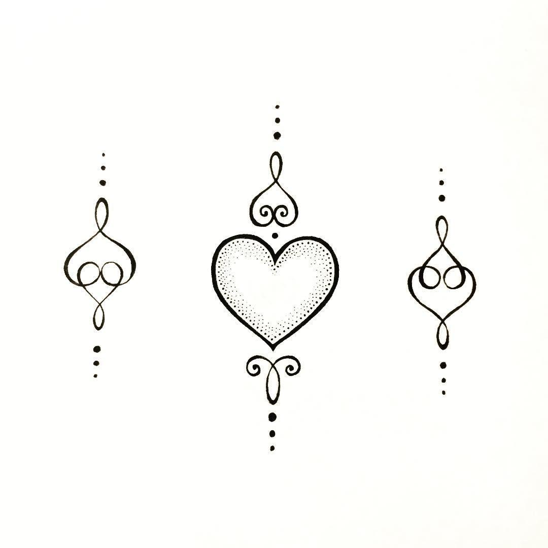 The Unalome: L O V E #tattoo #unalome #unalometattoo #tattoolove