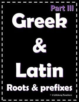 Part 3 greek latin root words and prefixes worksheets quiz part 3 greek latin root words and prefixes worksheets quiz latin root ibookread PDF