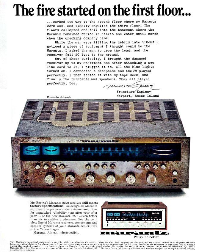 Vintage Marantz Ad - AudioKarma org Home Audio Stereo Discussion