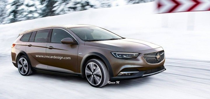 2018 Buick Regal Tourx Rendering Cts V Wagon Buick Buick Regal