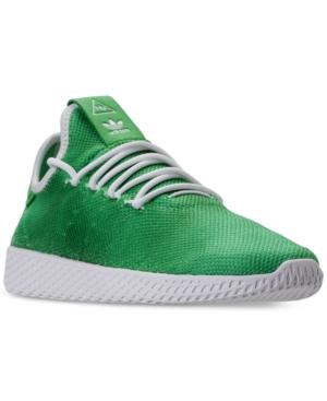 e4df7392c3f26 adidas Men s Originals Pharrell Williams Tennis Hu Casual Sneakers from  Finish Line - Green 8