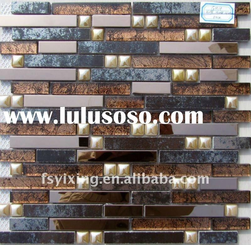 glass tile backsplash | mirror tiles self adhesive mosaic, mirror