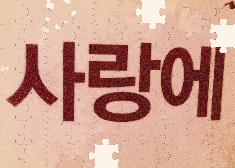 Saranghae i love you in korean pretty little words saranghae i love you in korean buycottarizona Choice Image