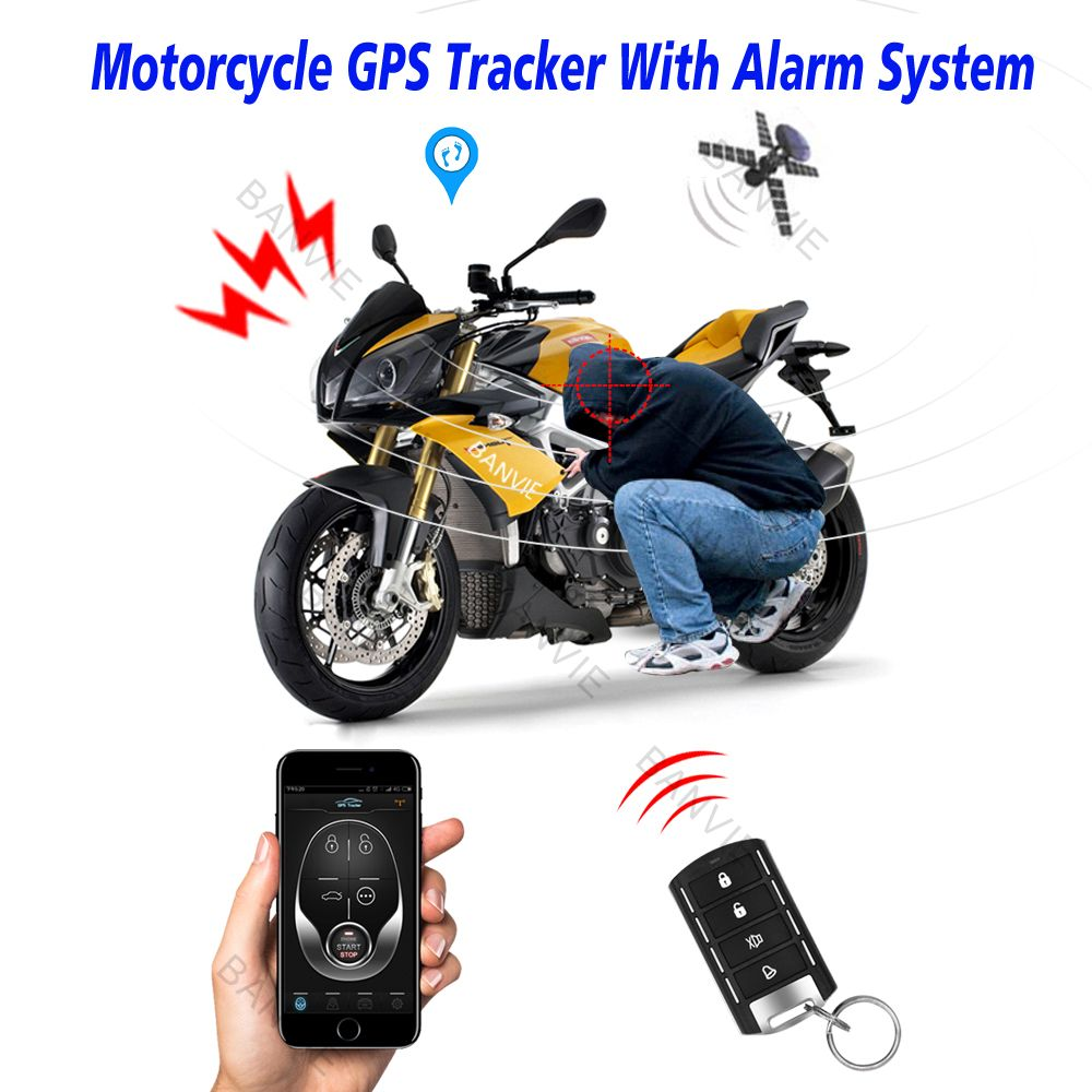 High Quality Motorcycle Gps Tracker One Way Remote Engine Start Motorcycle Alarm With Android And Iphone App Motorcycle Gps Motorcycle Gps Tracker Gps Tracker