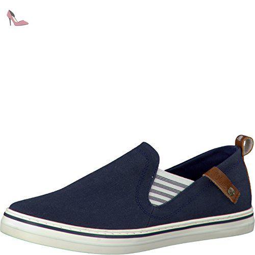 Shoes Femme SOliver 5 24605 Bleu 28100Coupe Fermées BWQCrodex