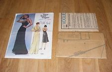 Vintage Edith Head Easy Vogue Hollywood Designer Sewing Pattern Dress Gown Sz 16