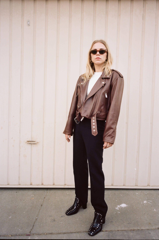 Custom Leather Brown Leather Jacket Leather Jacket Jackets