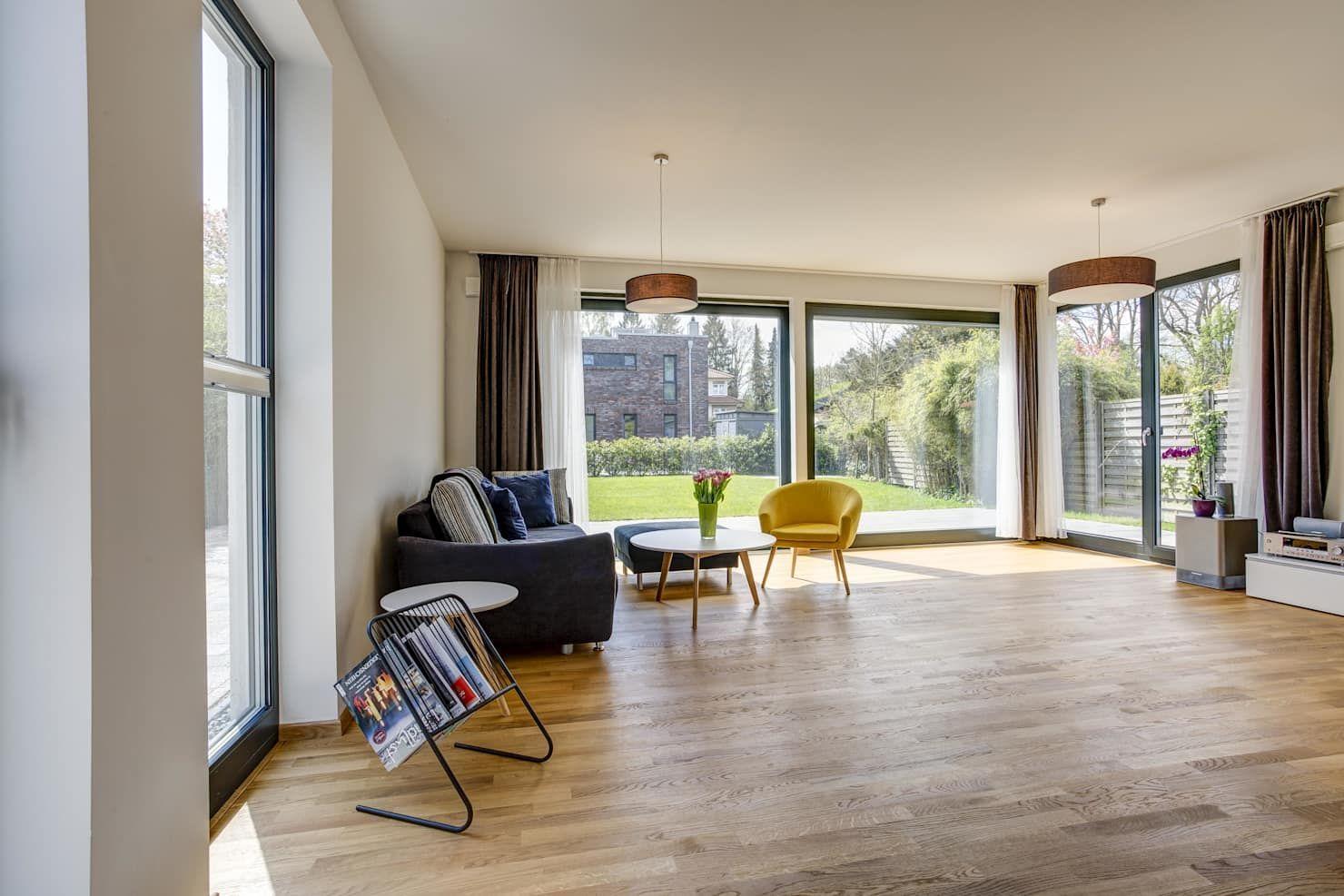 Wohnbereich moderne wohnzimmer von architekturbüro prell ...