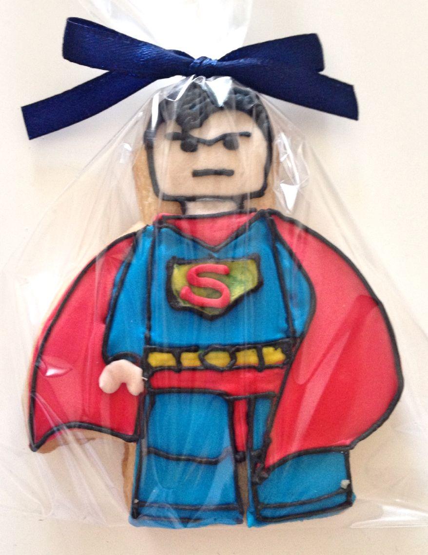 Super hero cookies
