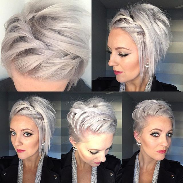 50 Short Hair Style Ideas For Women Hair Styles Braids For Short Hair Short Hair Styles