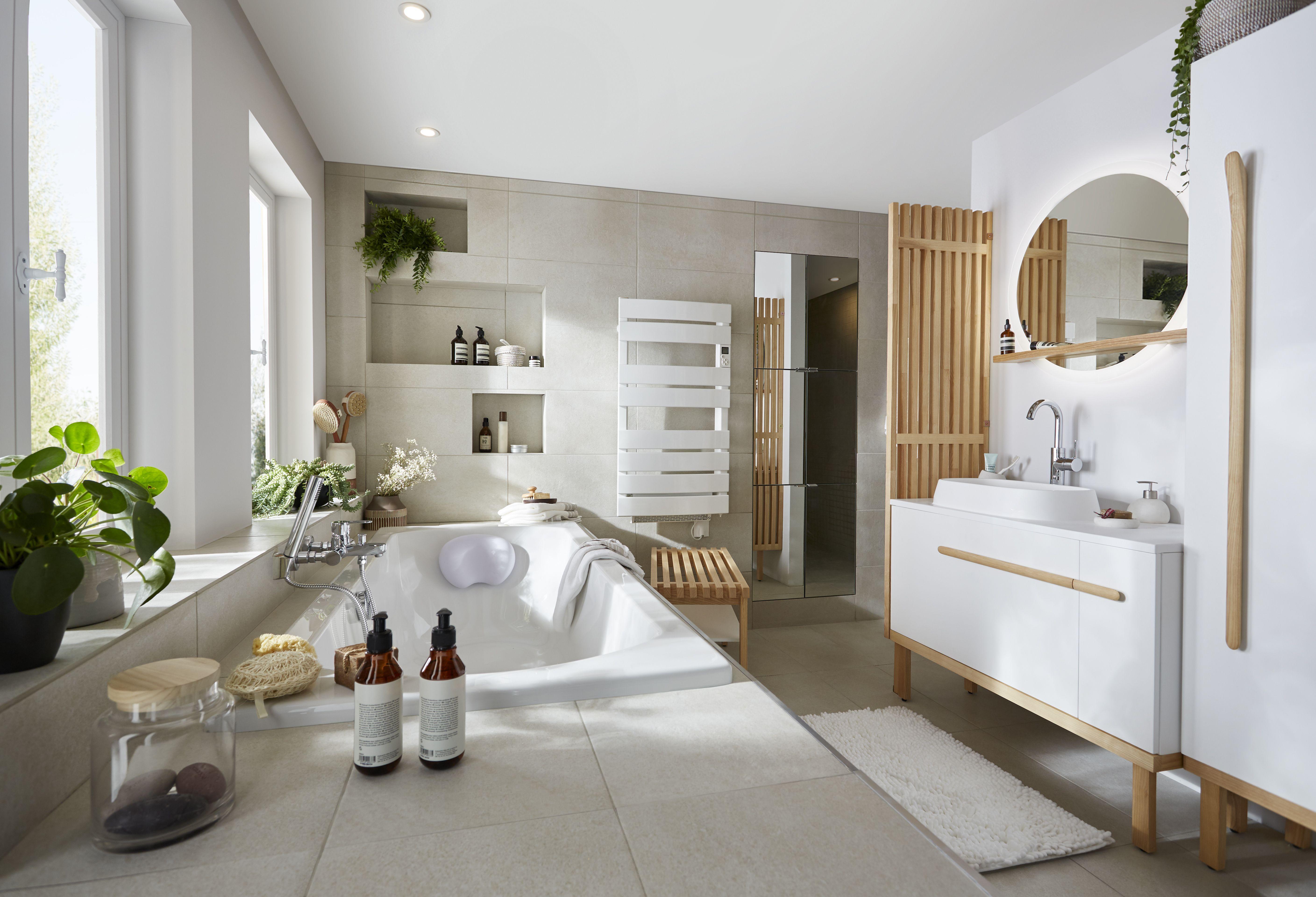 Goodhome Toujours Plus Simple Goodhome Bricodepot Maison Appartement Logement Interieur Salledebains Inspiration Salle De Bain Logement Salle De Bain