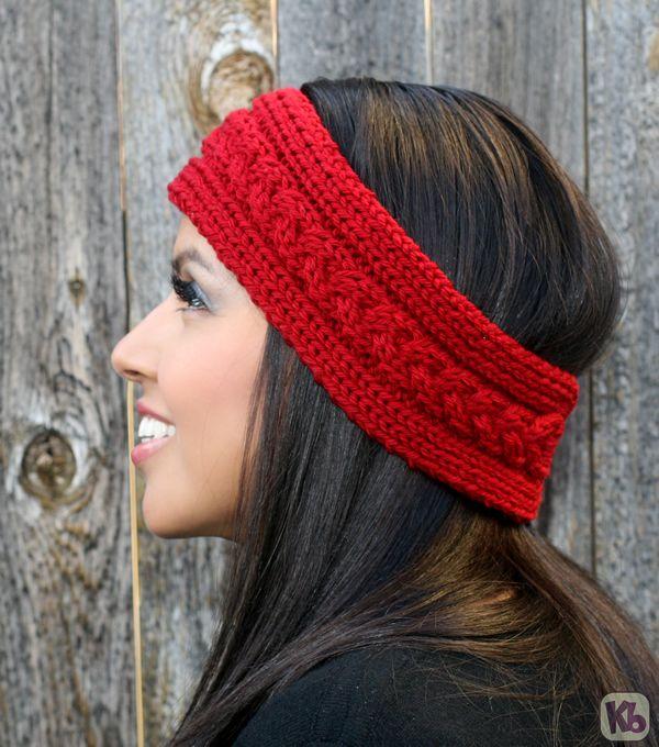 Loom Knit Ear Warmer Headband Pattern Pictures Diy Pinterest