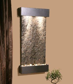 Merveilleux Interior Waterfall From Adagio Collection   Stainless Steel And Rustic  Copper Indoor Waterfalls
