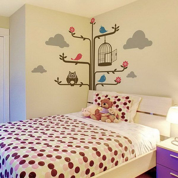 20 Cute Wall Decals and Murals for Kids Bedroom | Pinterest | Wall ...
