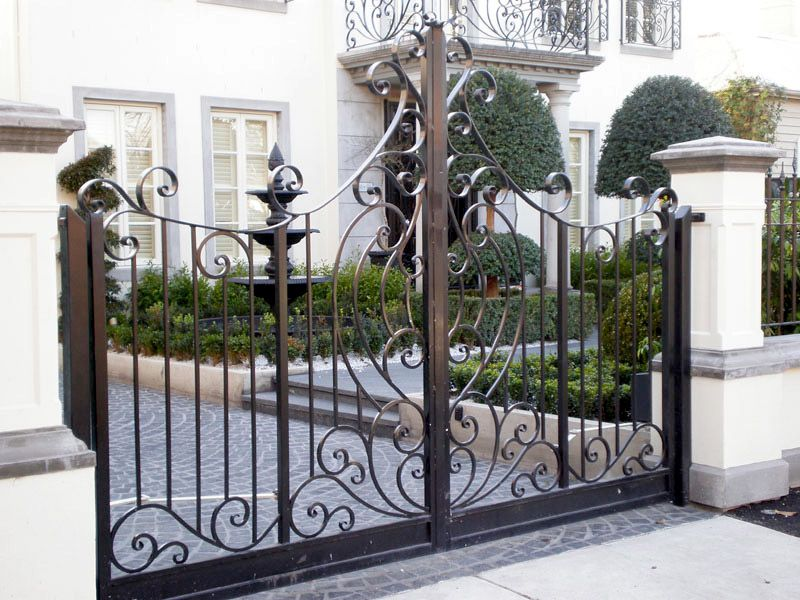 Looking For Wrought Iron Gates For Your Melbourne Home? Warp Ironworks  Specialises In Crafting Unique Wrought Iron Gate Designs.
