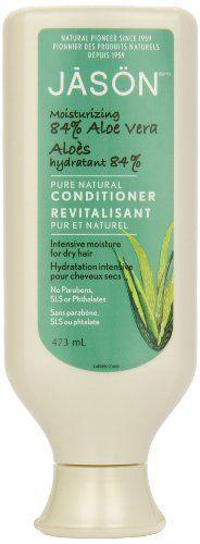 Jason Moisturizing 84% Aloe Vera Conditioner, 473ml