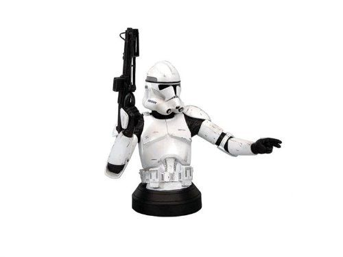 Star Wars Episode Iii Revenge Of The Sith Clone Trooper White Variant Mini Bust By Gentle Giant Studios Gentle Gian With Images Star Wars Episodes Clone Trooper Star Wars