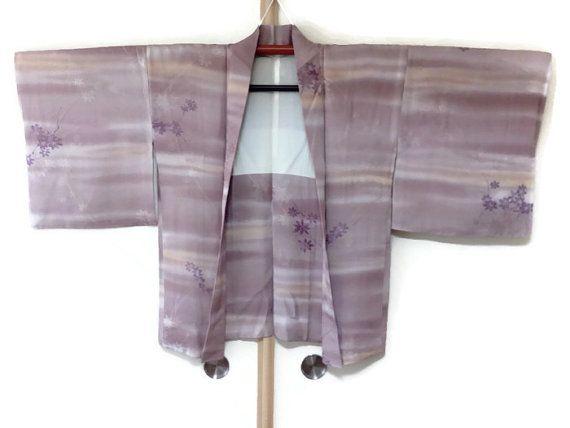 Kimono jacket Japanese haori for men women tsumugi silk haori green checked kimono jacket kimono cardigan Asian jacket - JA0060VH 28vH5V