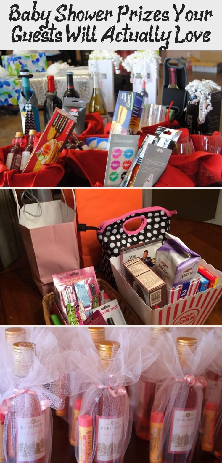 Baby shower prizes your guests will actually love