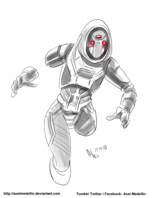 Ghost - Ant Man & The Wasp By Axel Medellin | Comics | Pinterest ...