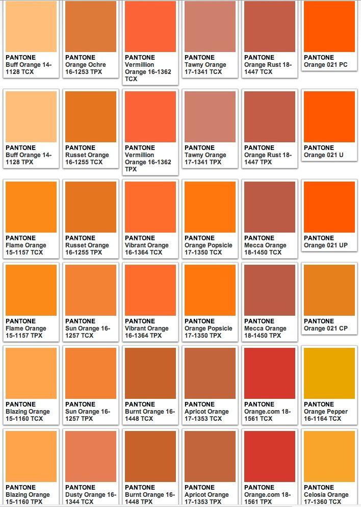 Your Number One Asian Entertainment Community Forum Pantone Colour Palettes Orange Color