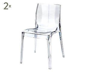 Esthetique Contemporaine Chaise Polycarbonate Chaise Tabouret