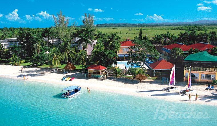 Beaches Sandy Bay In Negril Jamaica I Will Haunt This Place When I Die Because It Was A Week Of Pure Family Beach Resorts Beach Resorts Great Vacation Spots