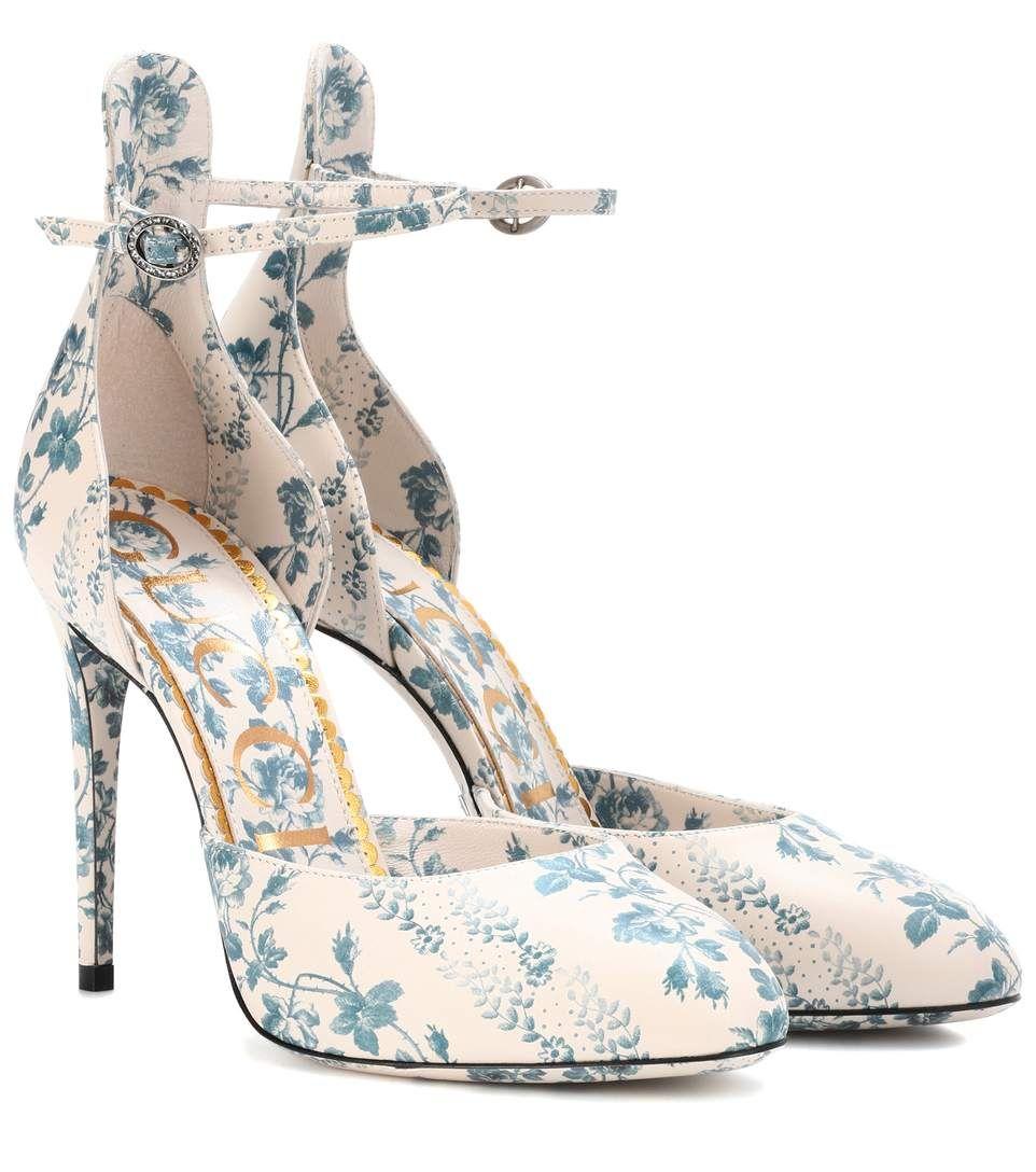 Floral shoes, Jeweled shoes, Floral pumps