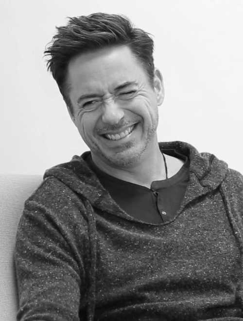 RDJ and his laugh